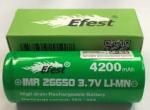 efest 26650 green